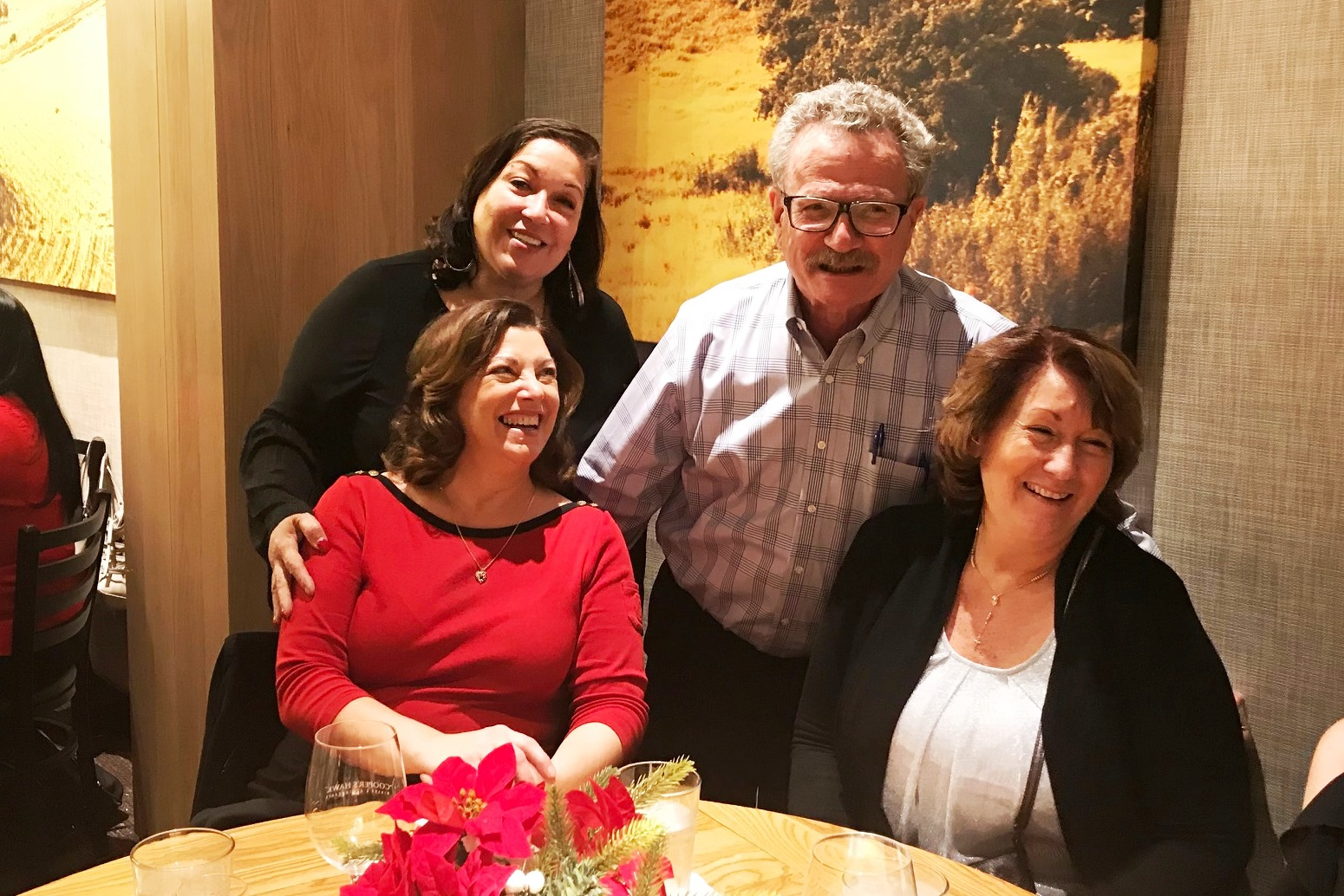 L-R Estate Administration Paralegals Norma Cruz, Ana Stalker and Janet Suarez with Attorney Joseph Karp