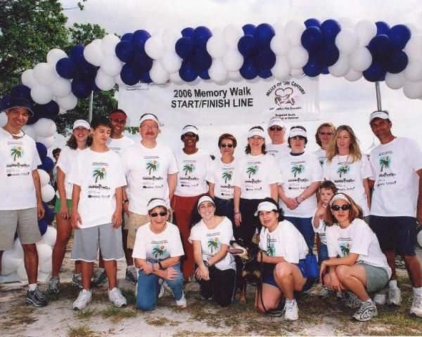 Memory Walk 2006 Karp Law Firm Team