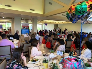 Luncheon at the West Palm Beach Airport Hilton on April 24